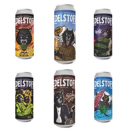 cervezas edelstoff latas